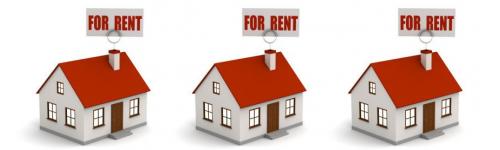 Rent of flats